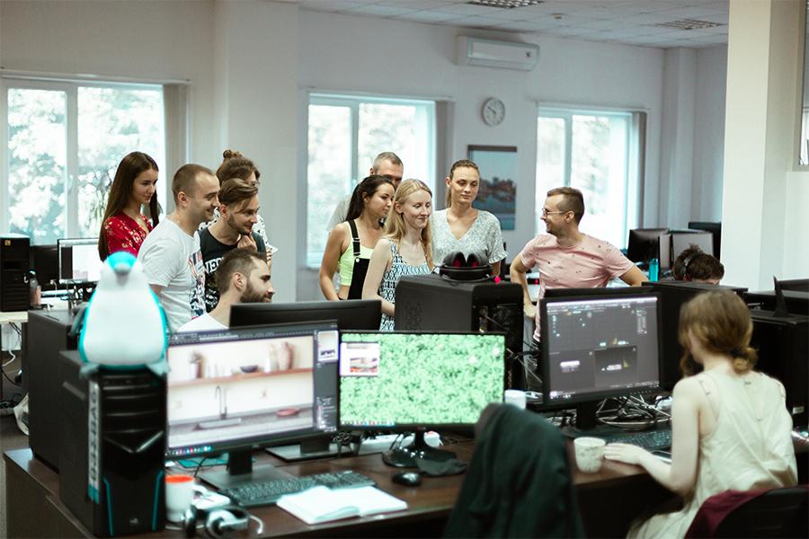 Проєктні менеджери знайомляться з 3D артистами