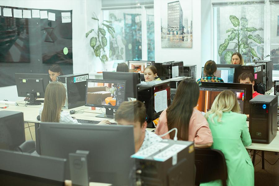 Проєктні менеджери вивчають 3ds Max на CGI PM Bootcamp
