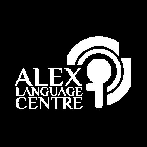 Логотип школи англійської Alex Language Centre