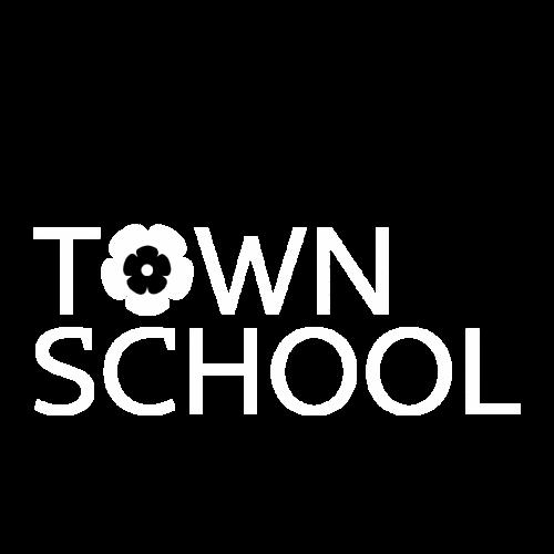 Логотип школи англійської мови Town School